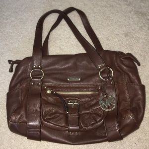 Michael Kors bag - brown leather (pre-owned)